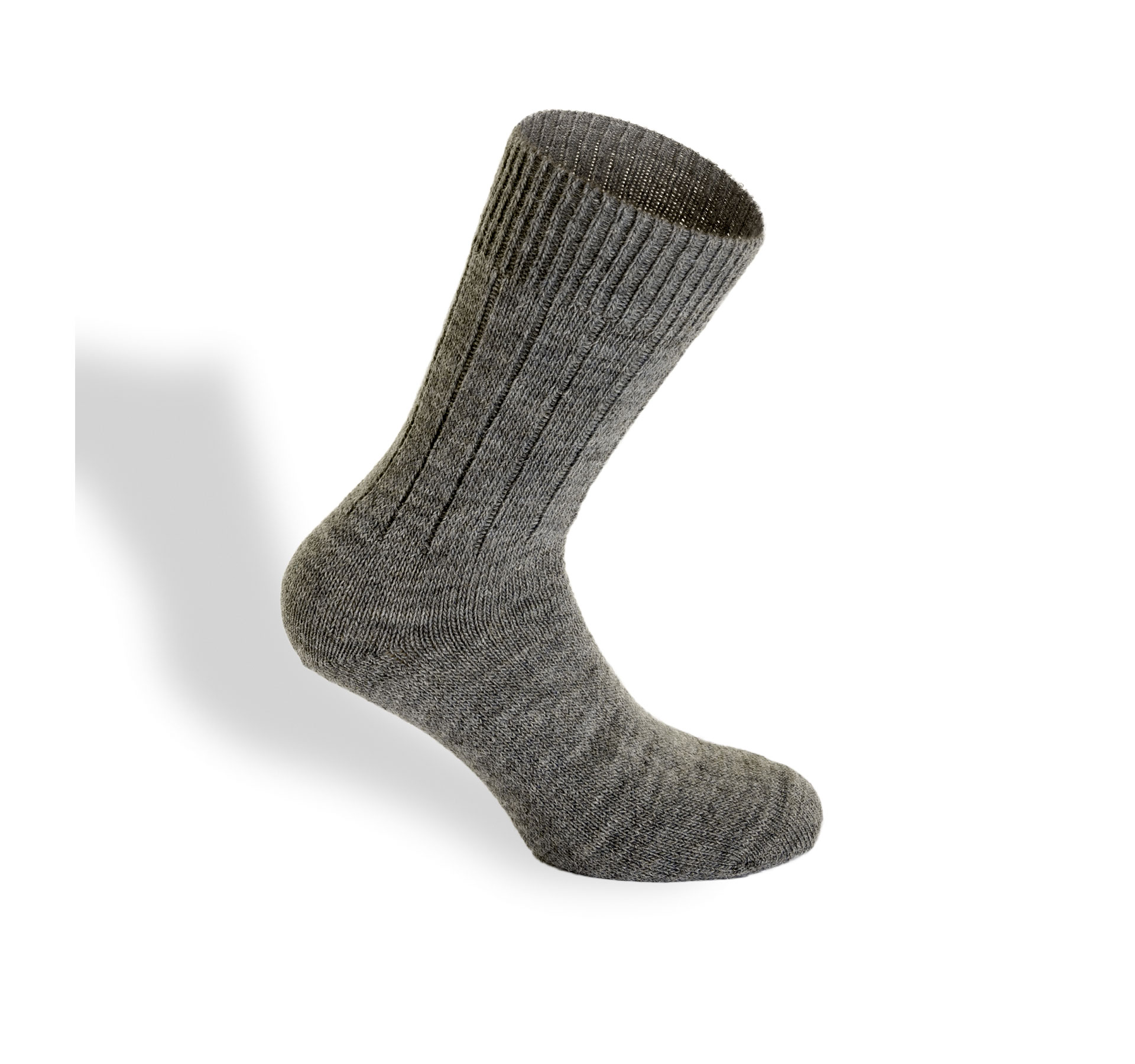 calza uomo invernale lana