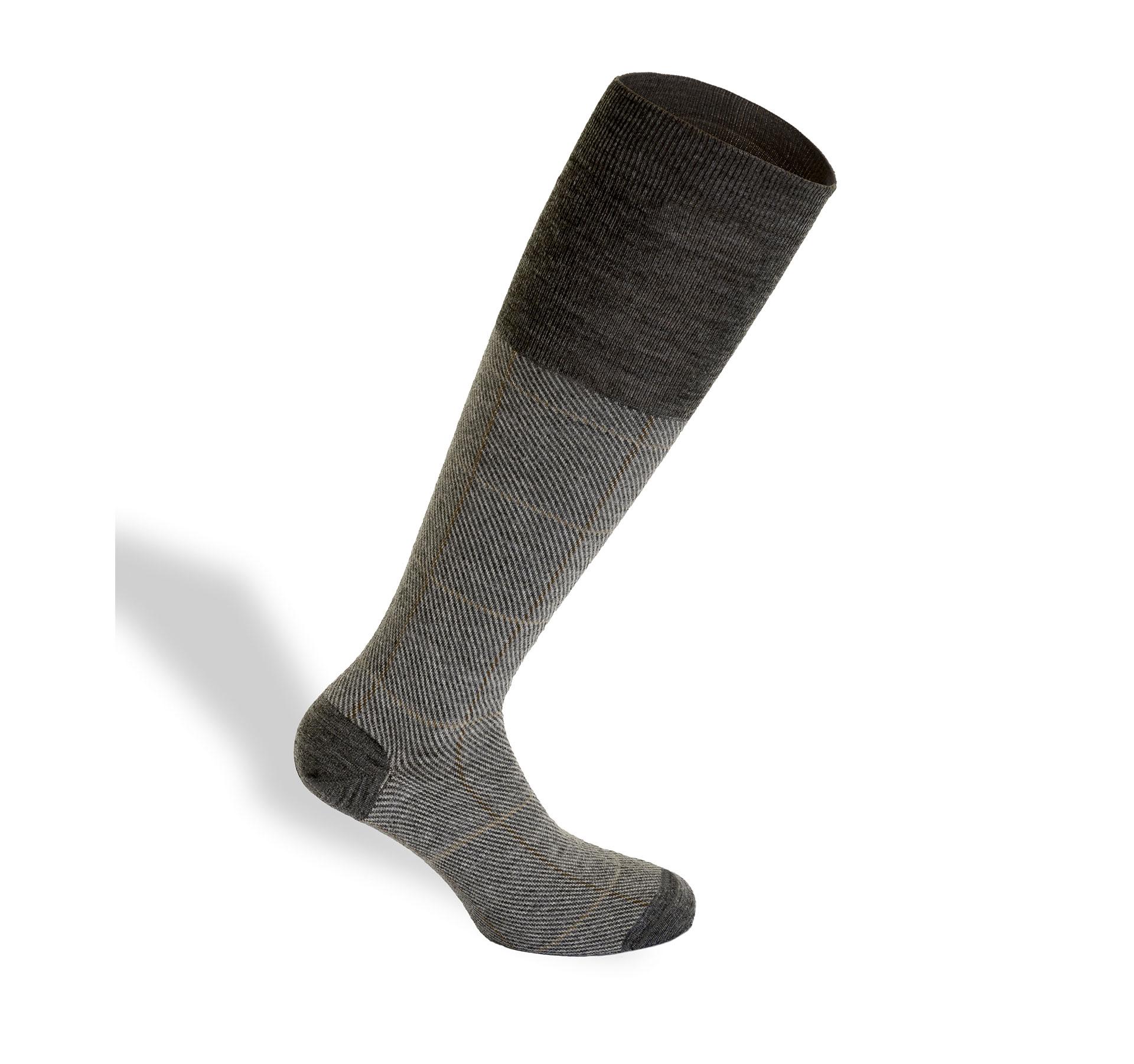 calza con fibre naturali