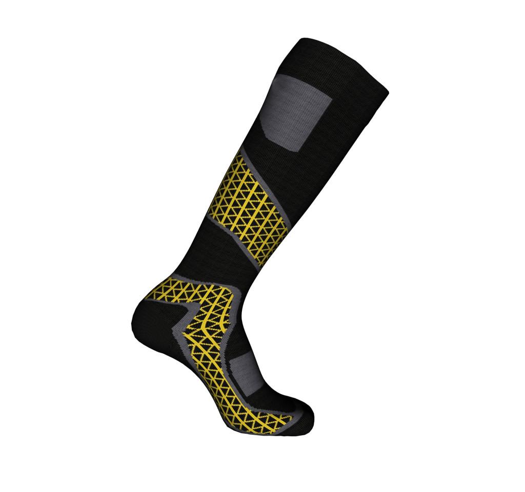 calze sportive sci nera