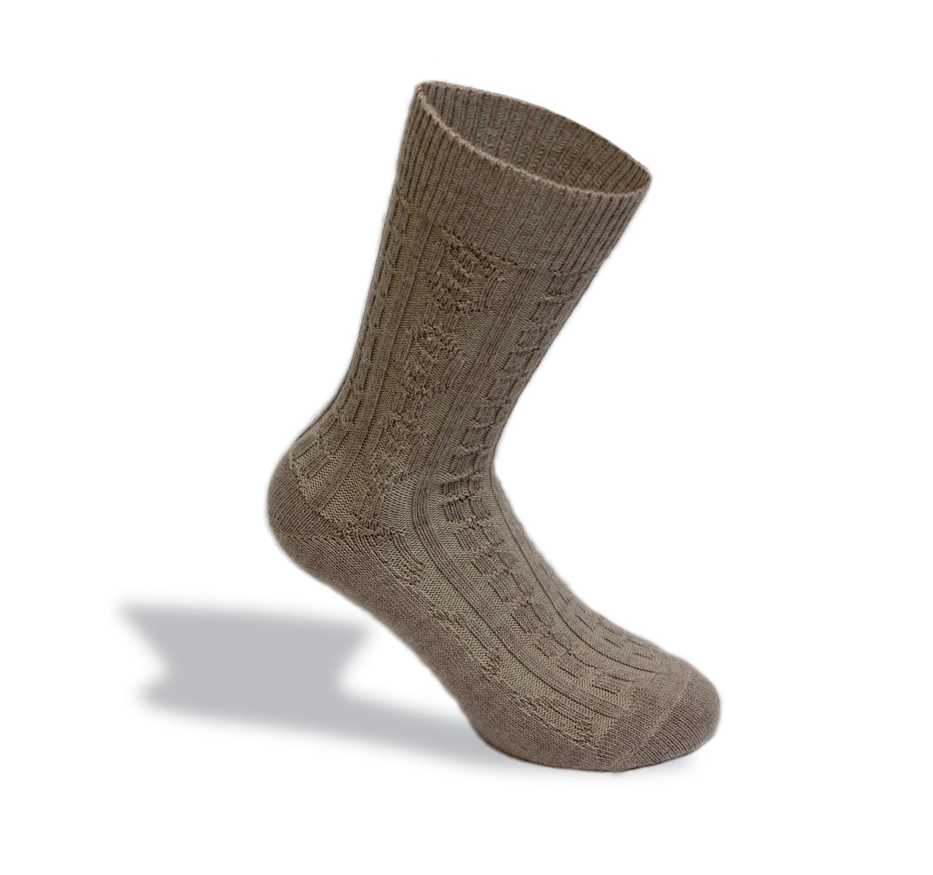 calza con fibra merinos