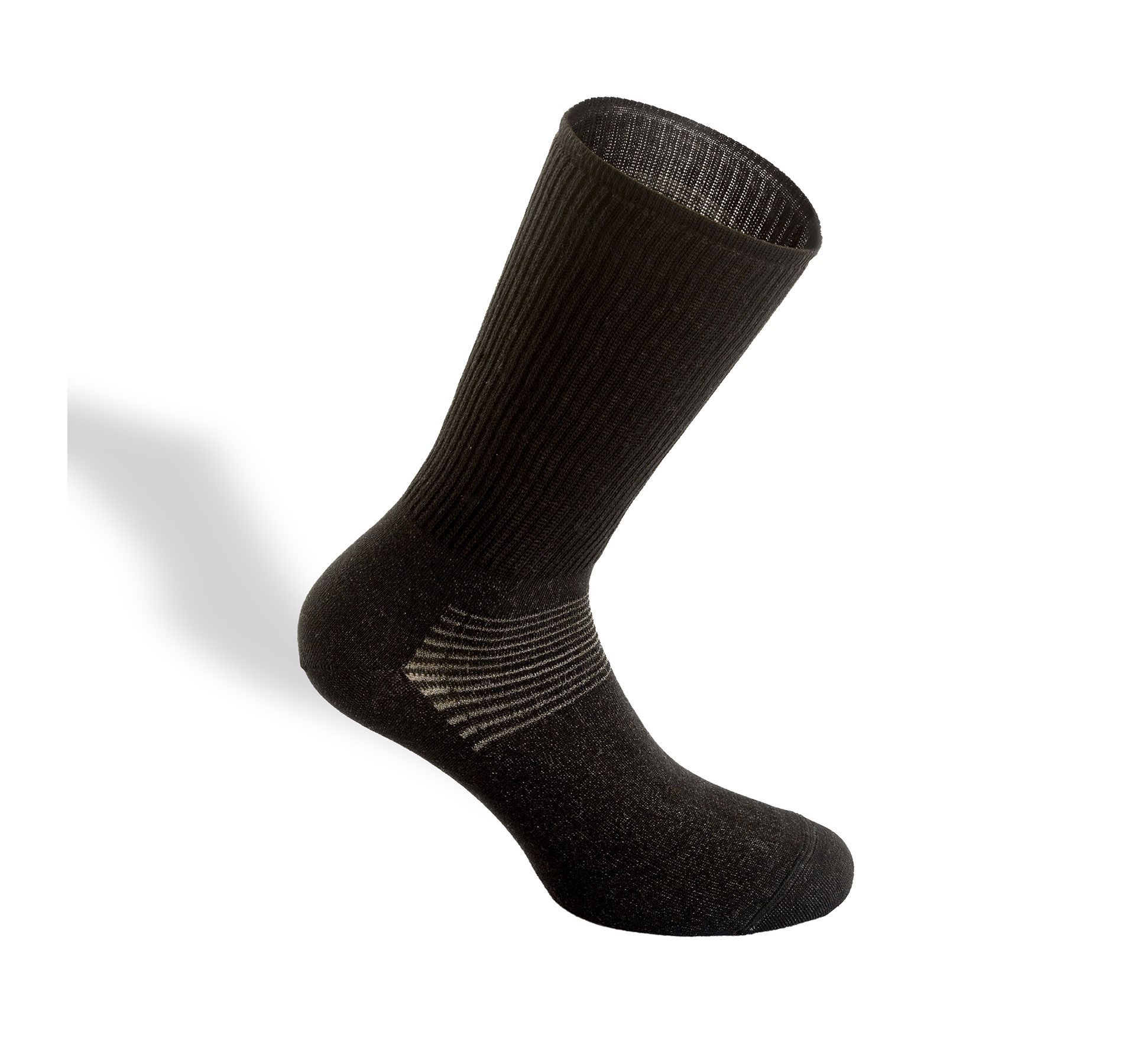 calza benefica in fibra d'argento