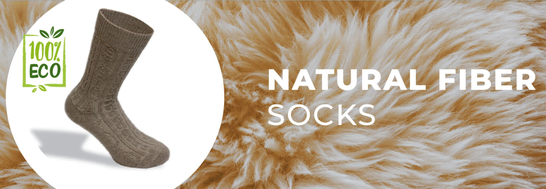 natural fiber socks
